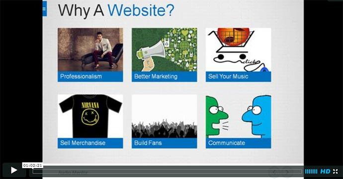 Build Your Musician Website Now