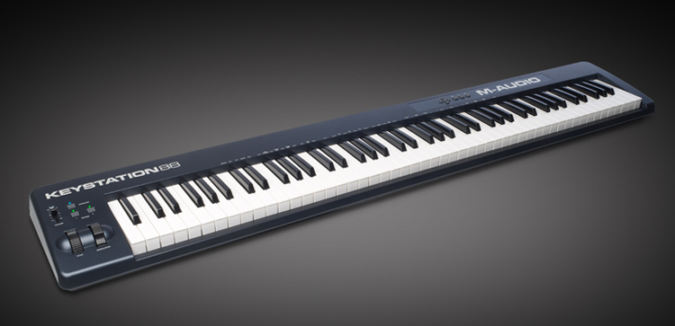 m audio 88 note keystation keyboard how
