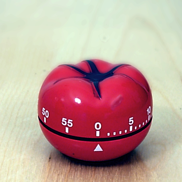 You can buy a pomodoro timer or simply find an app for it.