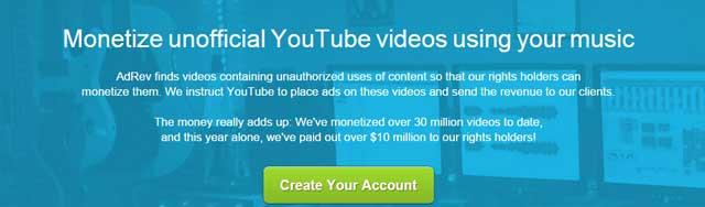 monetize-unoficial-videos