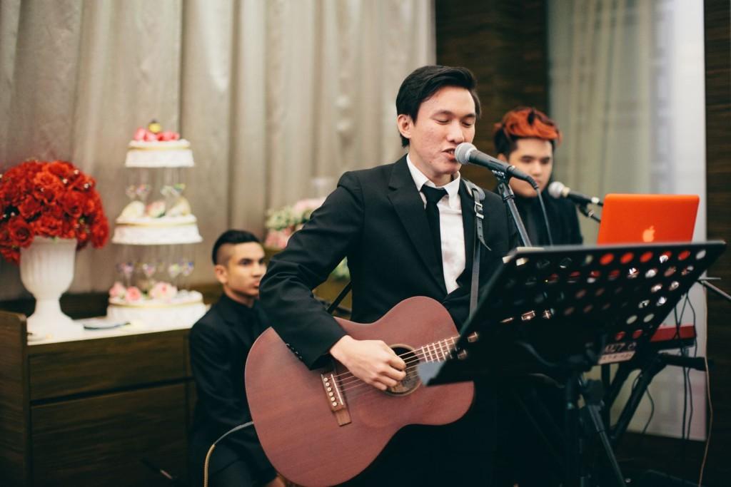 Daniel Chan Performing