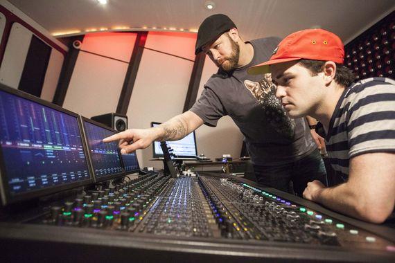 Recording studio learning