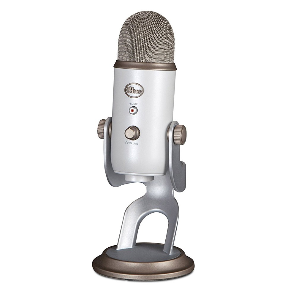 USB microphone great for podcasts and studio recording