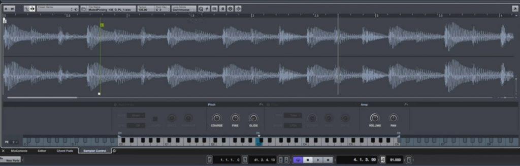 New sampler track in Cubase 9