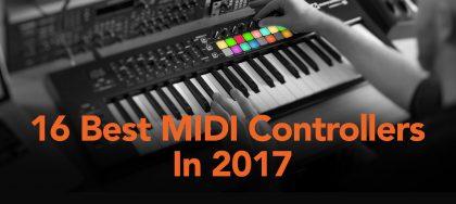 best midi controllers 2017