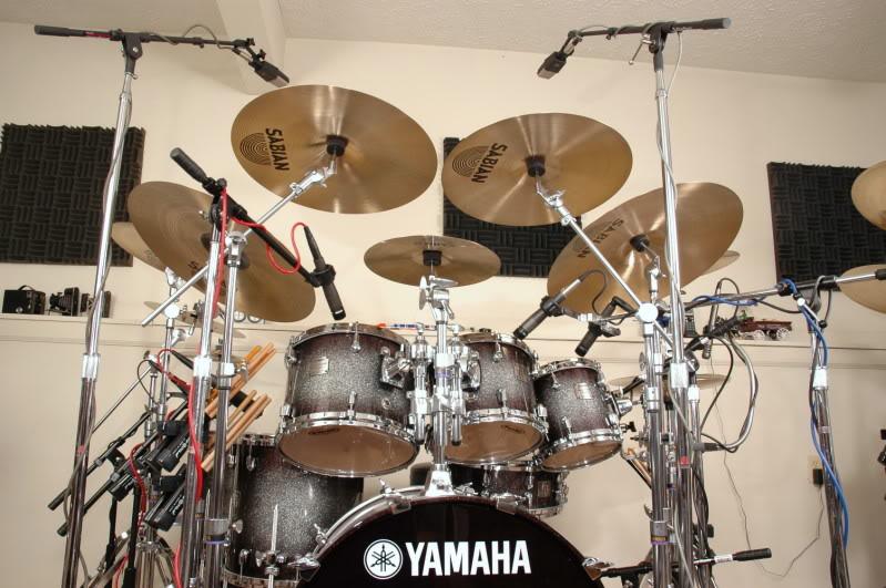 audio mentor drum miking