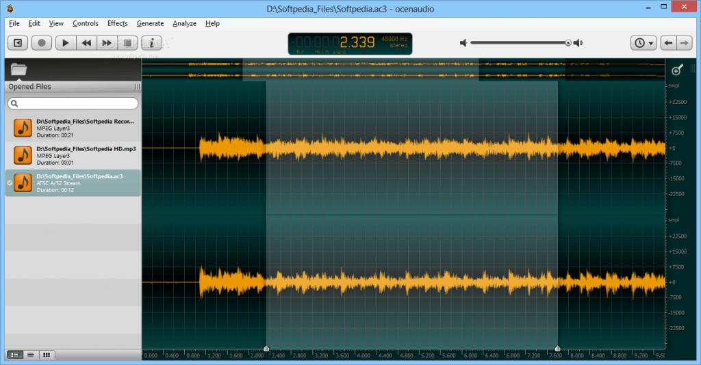 acenaudio free audio editor audiomentor