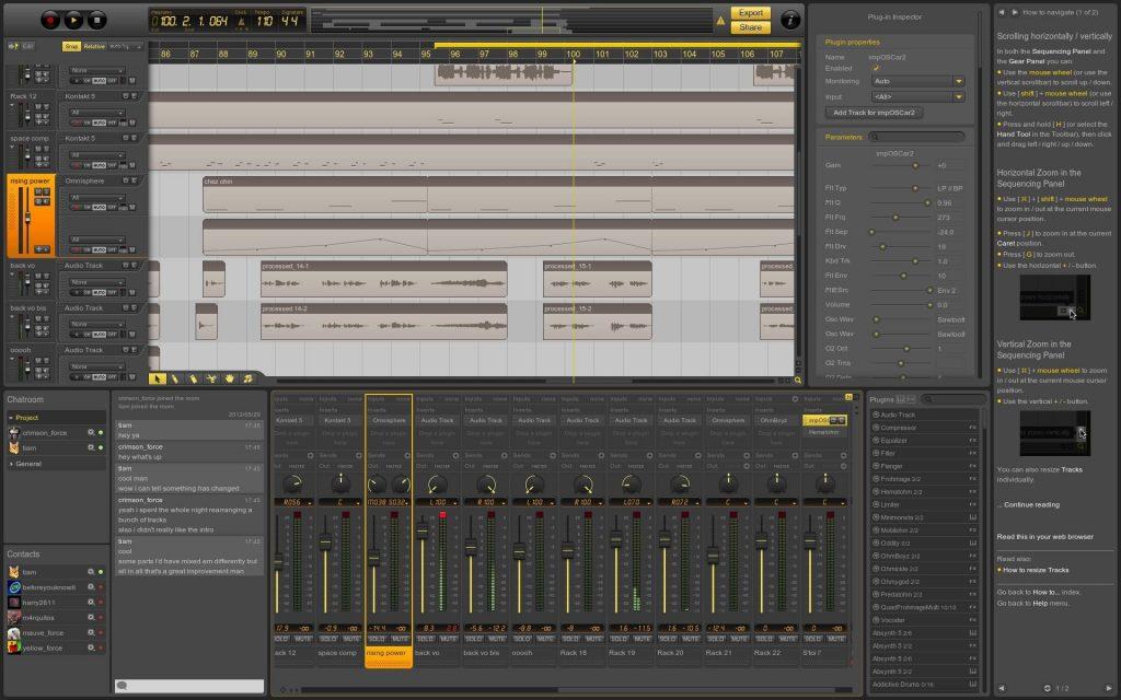 ohm studio free DAW audiomentor