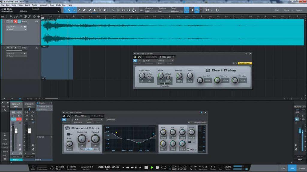 presonus studio one prime 4 best free DAW