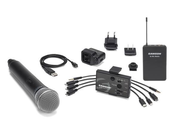 samson go mic mobile accessories