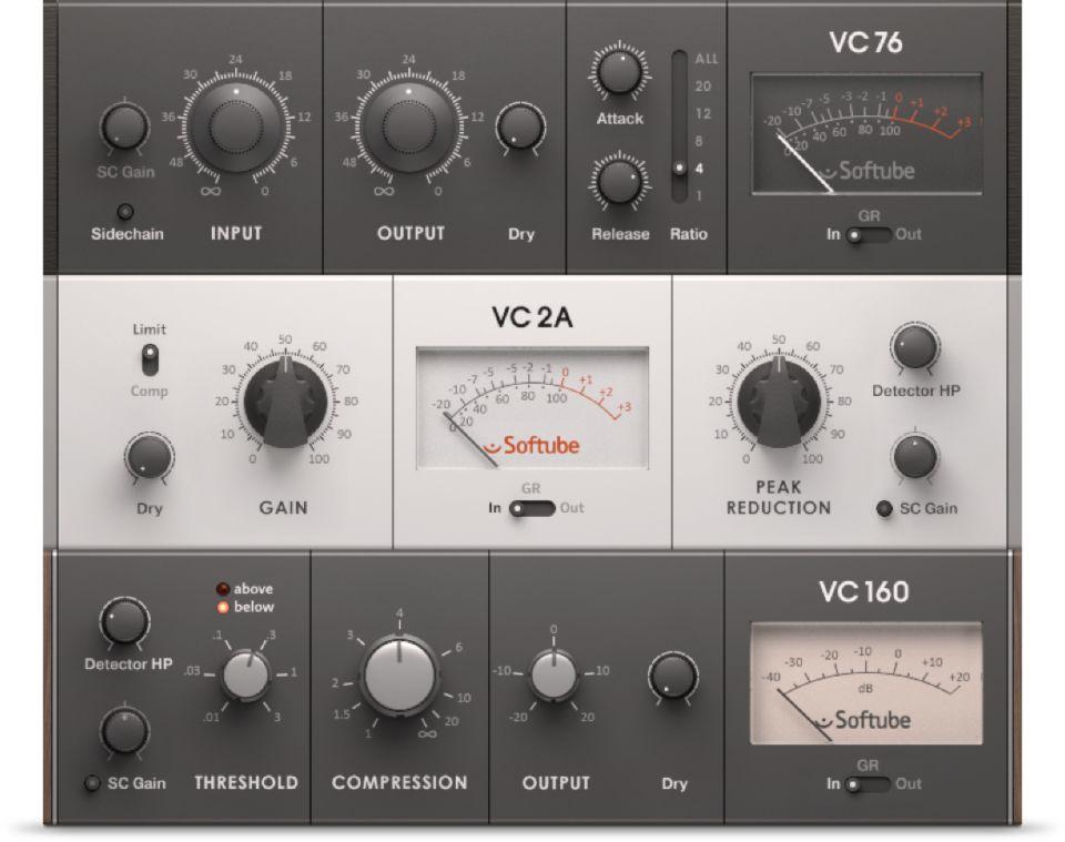 vca compressor native instruments