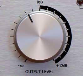 Limiter output level
