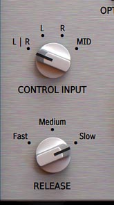 Release knob on a limiter