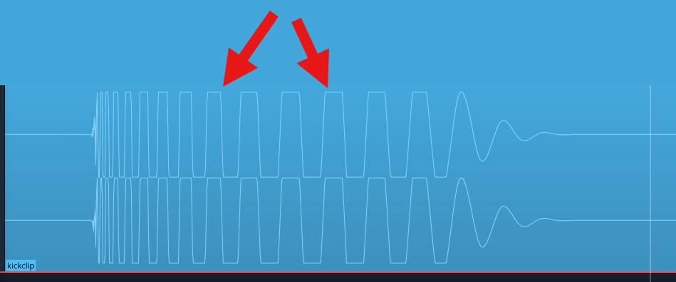 waveform-of-distorted-kick-sample